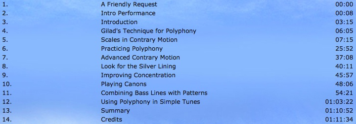 Gilad Hekselman Polyphony Lesson Mobile Playlist